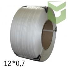 Полипропиленовая упаковочная лента 12*0,7 мм (2,3 км)