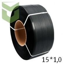 Полипропиленовая упаковочная лента 15*1,0 мм (1,2 км)