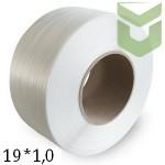 Полипропиленовая упаковочная лента 19*1,0 мм (1 км)