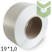 Полипропиленовая упаковочная лента 19*1,0 мм (1км)